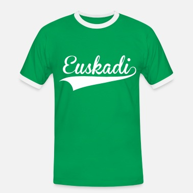 Basque Country euskadi vector 01 - Men's Ringer Shirt