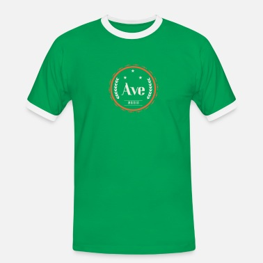 Ave Ave maria - Mannen contrastshirt
