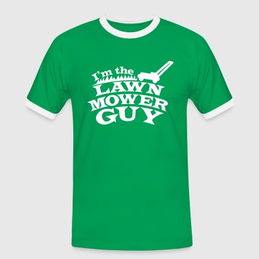 Lawn I'm the Lawn mower guy - Men's Ringer Shirt