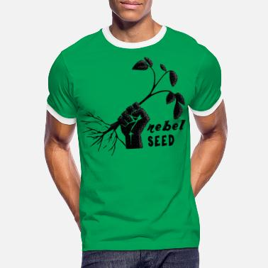 Seed Rebel seed - T-shirt contrasté Homme