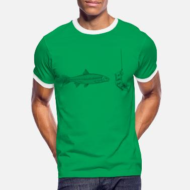 Fish dollar - Men's Ringer T-Shirt