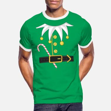 Elf Elf costume Christmas - Men's Ringer T-Shirt