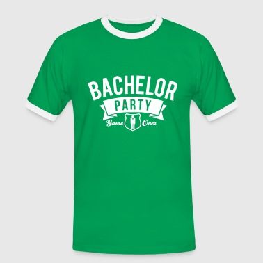 bachelor party - Männer Kontrast-T-Shirt