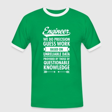 Engineer... - Herre kontrast-T-shirt