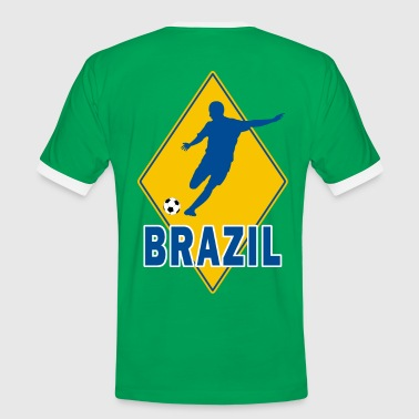 brazil football team - Men's Ringer Shirt
