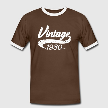 Vintage 1980 - Men's Ringer Shirt