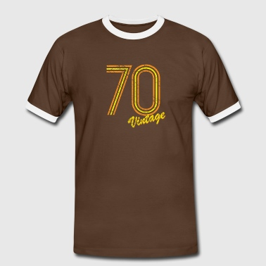 70 vintage - Men's Ringer Shirt