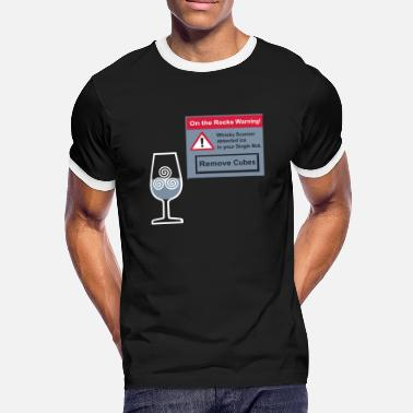 Ardbeg Ice Warning - Männer Ringer T-Shirt