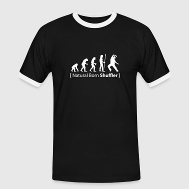 evolution_born_shuffler - Männer Kontrast-T-Shirt