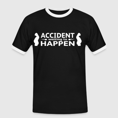 Accident Waiting To Happen - Mannen contrastshirt