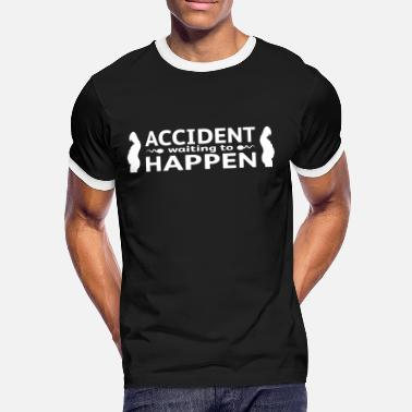 Waiting Accident Waiting To Happen - Mannen contrastshirt