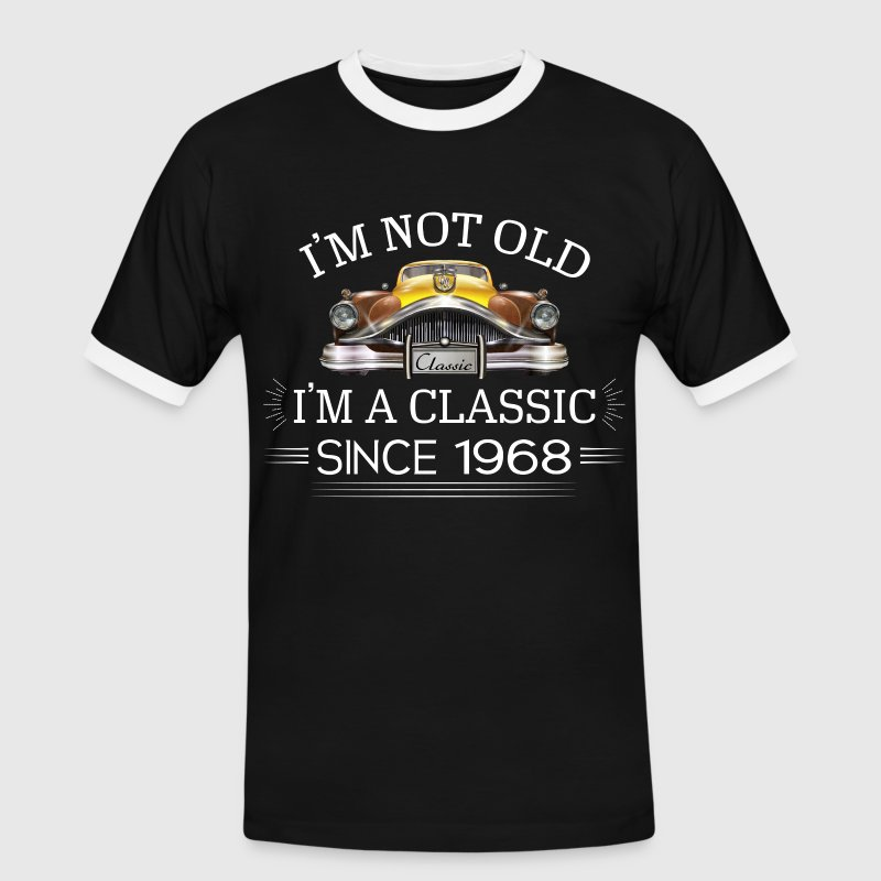 -Classic Since 1968- - Men's Ringer Shirt