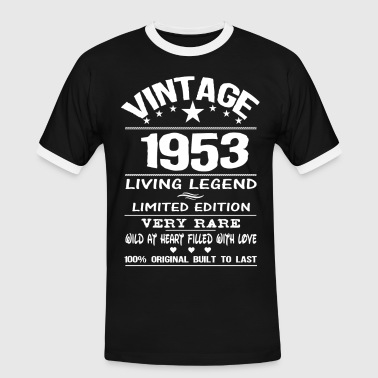 1953 Legends VINTAGE 1953-LIVING LEGEND - Men's Ringer Shirt