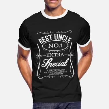Best Uncle BEST UNCLE - Men's Ringer Shirt
