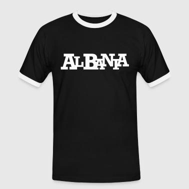 ALBANIA #10 - Men's Ringer Shirt
