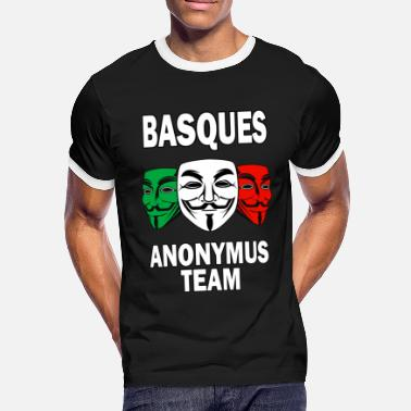 Anonymus basques anonymus team - Camiseta contraste hombre