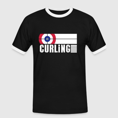 curling rink - Men's Ringer Shirt