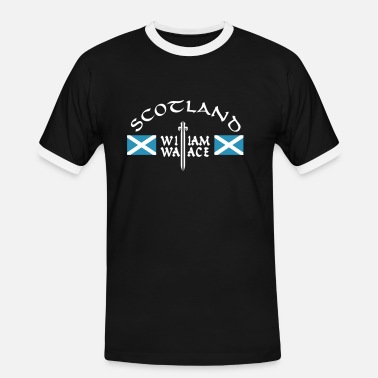 William Wallace Scotland William Wallace - Männer Ringer T-Shirt