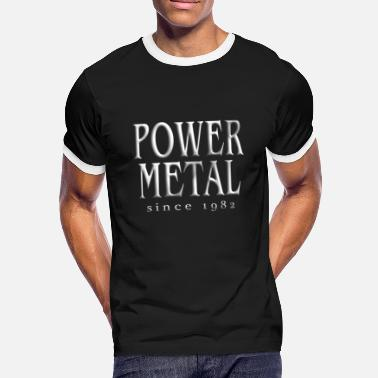 Power Metal Power Metal T-shirt - Kontrast T-shirt herr