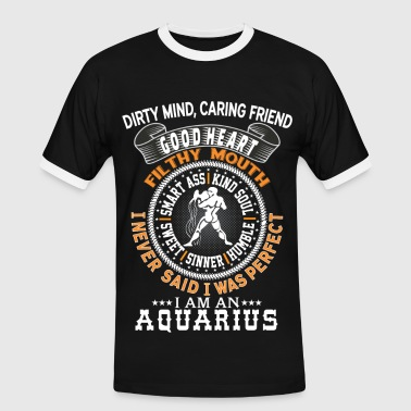I AM AN AQUARIUS - Men's Ringer Shirt