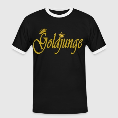 goldjunge - Männer Kontrast-T-Shirt