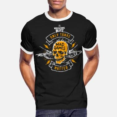 Wot World of Tank Blitz - Only Tanks Matter - Camiseta contraste hombre