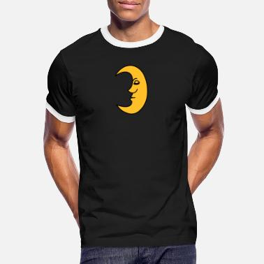Satellite moon - Men's Ringer T-Shirt