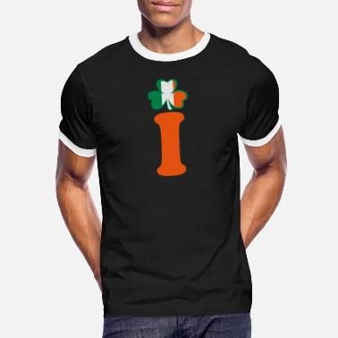 Most Bucket List Languages To Learn People To Meet And Fall In Love Countries To Visit And Travel To ♥ټ☘I am Irish-Irish Power-Ireland Rules☘ټ♥ - Men's Ringer T-Shirt