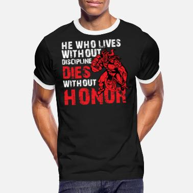 Honor Viking Nordmann fight honor Thor Odin ax warrior - Men's Ringer T-Shirt