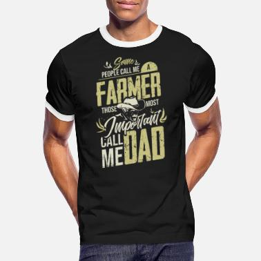Farmer Farmer dad - Men's Ringer T-Shirt