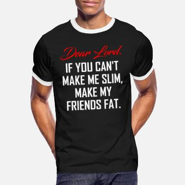Weight Loss Weight loss - Men's Ringer T-Shirt