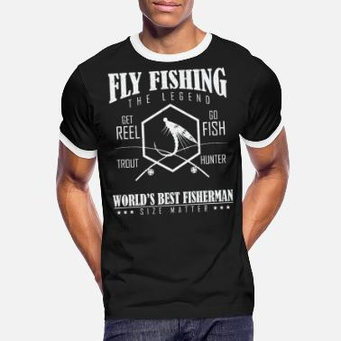 Sport Fishermen Fly fishermen are the best - Men's Ringer T-Shirt