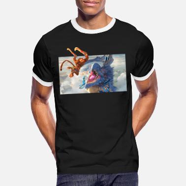 Might & Magic fight scene - Men's Ringer T-Shirt