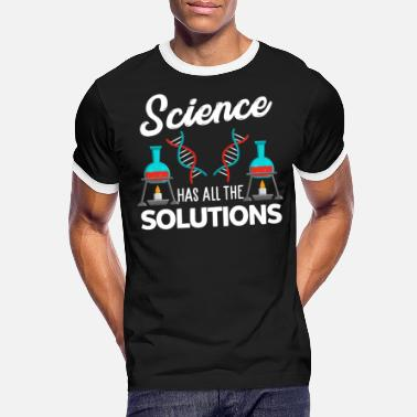 Research Science research experiment - Men's Ringer T-Shirt
