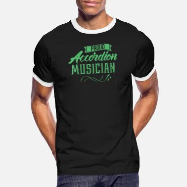 Accordion Accordion Accordion Accordion Accordion - Men's Ringer T-Shirt