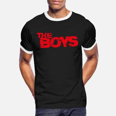 The Boys Logo Vintage rot - Männer Ringer T-Shirt