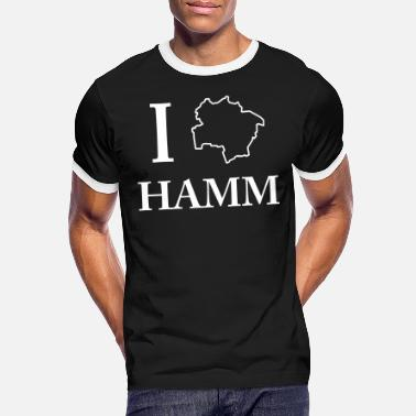 Nordrhein I love Hamm Tee Shirt I Love Homeland Gift - Men's Ringer T-Shirt
