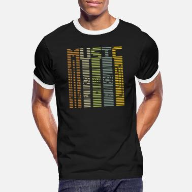 Rhythm Music rhythm - Men's Ringer T-Shirt