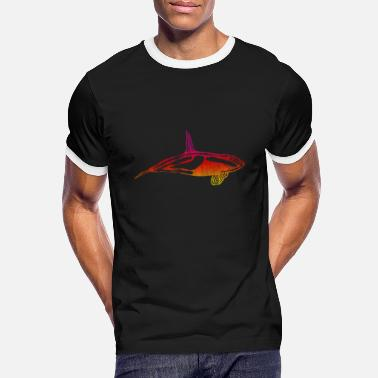 Killer Whale killer whale - Men's Ringer T-Shirt