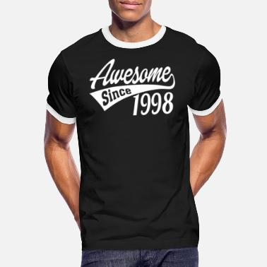 1998 Awesome Since 1998 - Men's Ringer T-Shirt