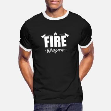 Firefighter Firefighters fireman - Men's Ringer T-Shirt