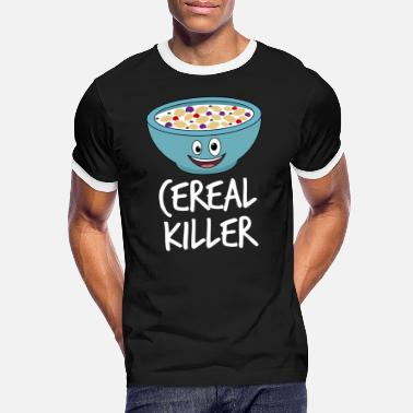 Cereal Cereal Killer - Men's Ringer T-Shirt