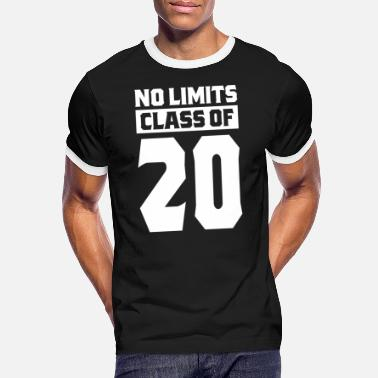 Class Struggle No Limits Class Of 2020 - Men's Ringer T-Shirt