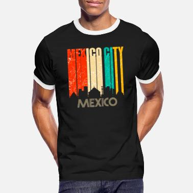 Mexico By Mexico by - Kontrast T-skjorte for menn