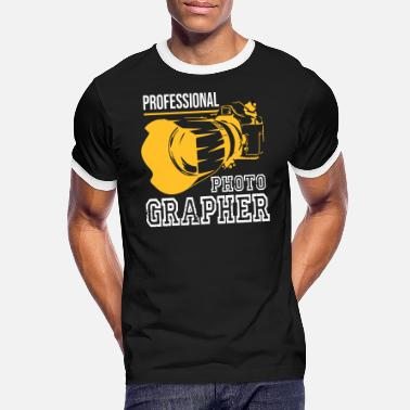 Photo profesional photographer - Men's Ringer T-Shirt