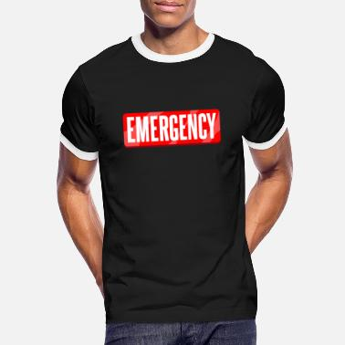 Emergence emergency - Men's Ringer T-Shirt