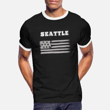 Seattle Seahawks Seattle - Maglietta in contrasto uomo