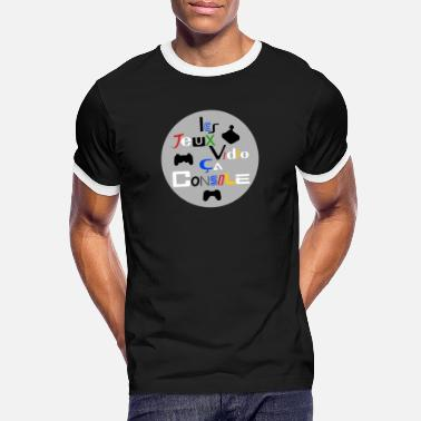 Game Console VIDEO GAMES, THIS CONSOLE! - Men's Ringer T-Shirt