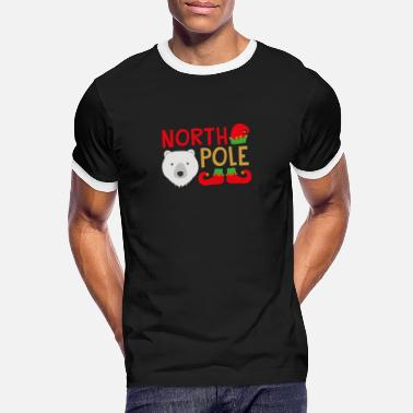 North Humberside North Pole - Men's Ringer T-Shirt