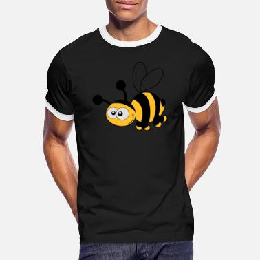 Hum Bee - Bee - Honey - Men's Ringer T-Shirt
